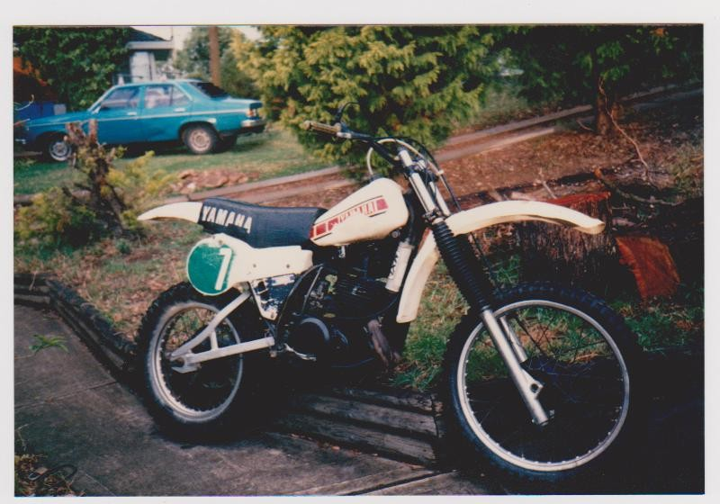 1980 Yamaha YZ 250 G