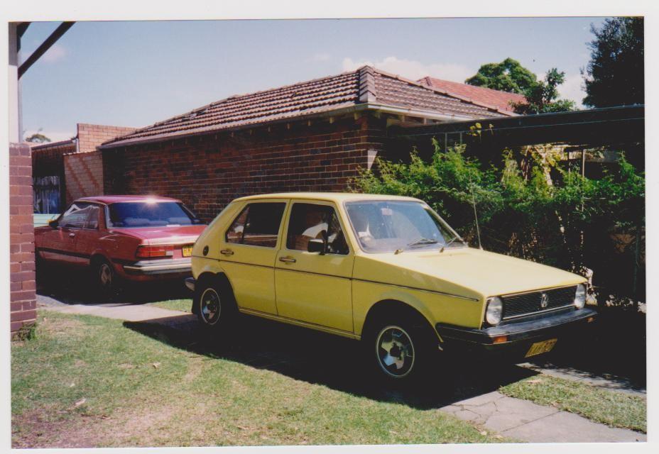1978 Volkswagen Golf GLD