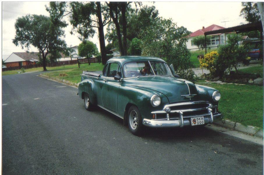 1950 Chevrolet UTE