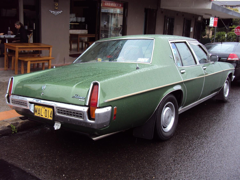 1974 Holden HQ Statesman DeVille