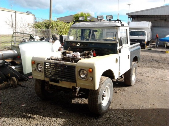 1959 Land Rover Series 2 - Landroverick