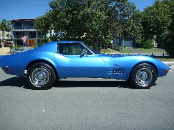 1970 chevrolet corvette stingray ross shannons club. Black Bedroom Furniture Sets. Home Design Ideas
