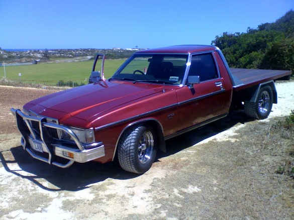 Holden 1 Tonne Tonne Boostcruising 1977 Holden