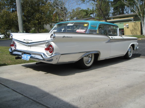 1959 ford fairlane 500 galaxie krakka shannons club for Garage ford 59