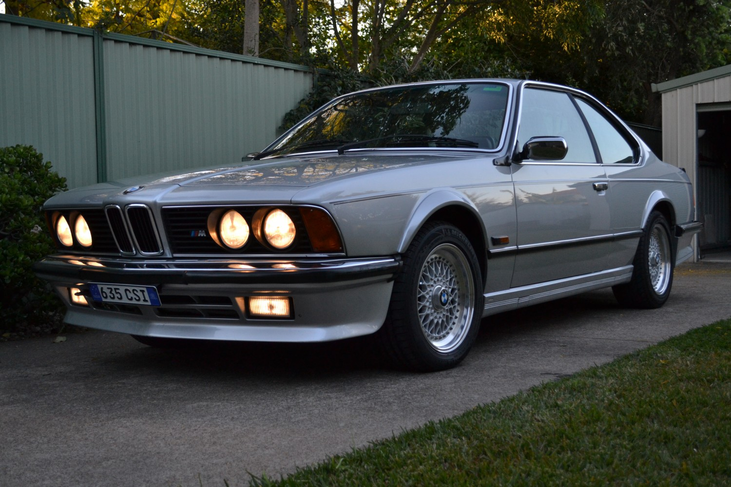 1986 BMW 635CSI with M-tech factory fitted kit