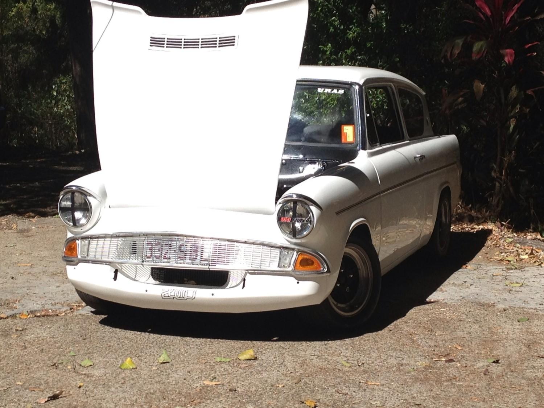 1964 Ford anglia 105e