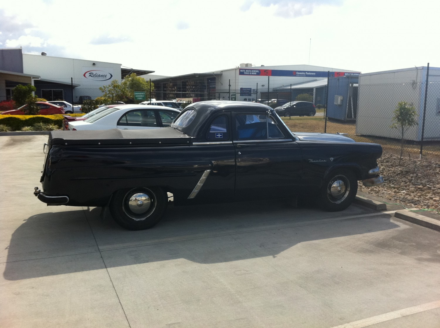 1954 Ford Mainline Single Spinner Show Shine Shannons Club Main Line