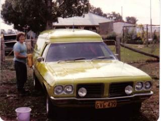 "1972 Holden HQ Panel Van ""Shaggin' Wagon"