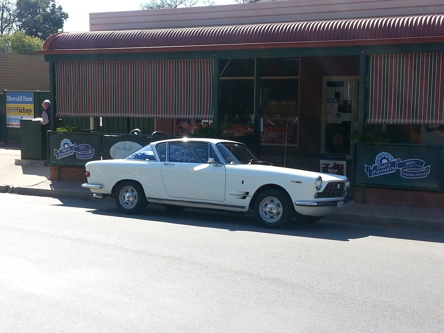 1963 Fiat 2300S With Abath modifications to Engine (Standard