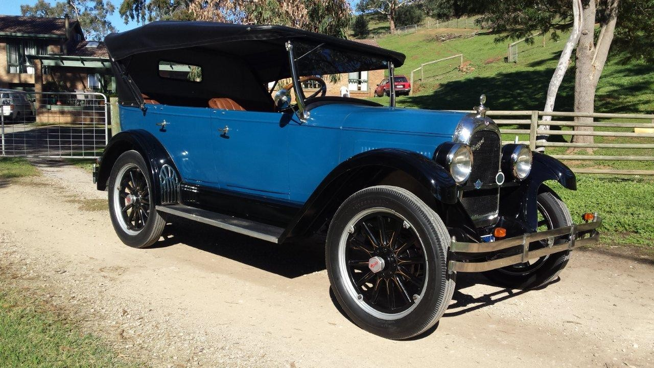 1926 Willys Overland Model 96 - Whippet