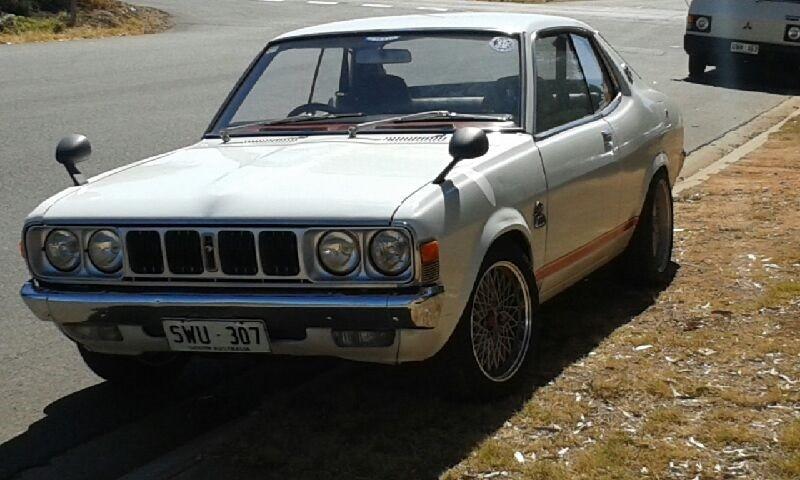 1975 Mitsubishi Galant GSII