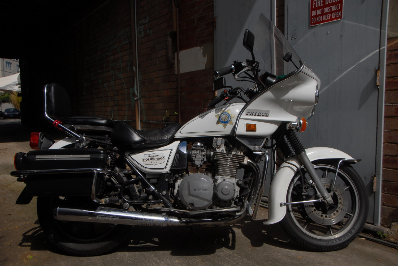 1987 Kawasaki KZ1000 Police Special - wheresdale - Shannons Club