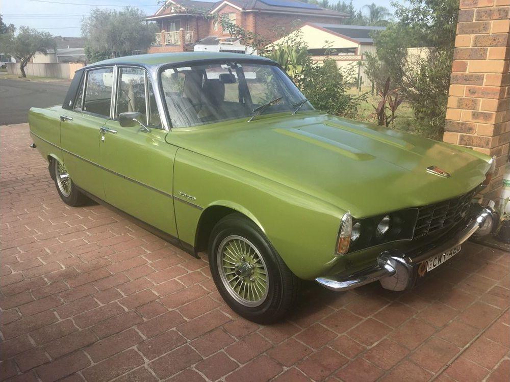 1972 Rover P6, 2000
