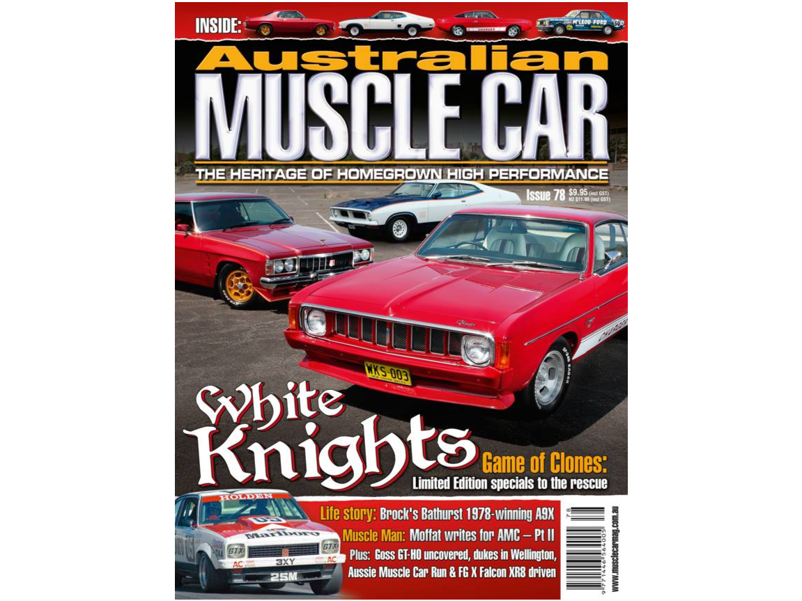 1976 Chrysler Valiant White Knight Special