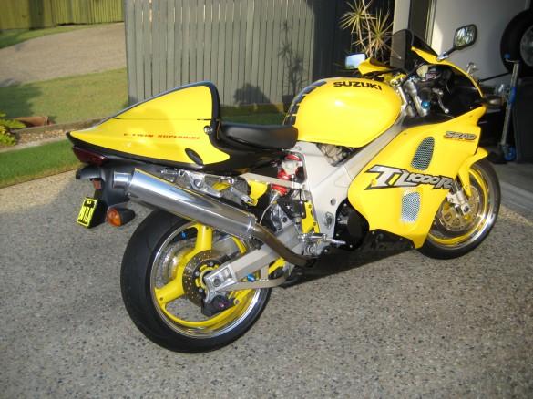 1998 Suzuki Tl1000r Yellowscott Shannons Club