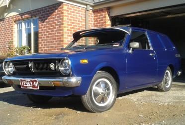 Car Auction Online >> 1977 Toyota COROLLA KE36 PANELVAN - JJT036 - Shannons Club