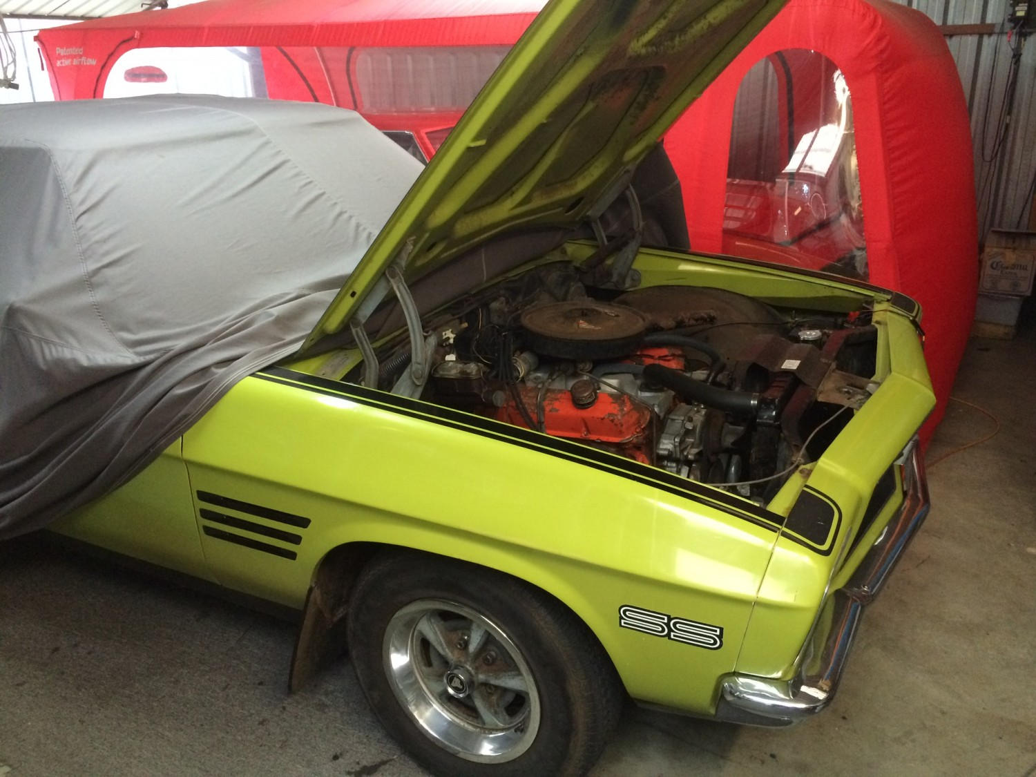 1972 Holden HQ SS