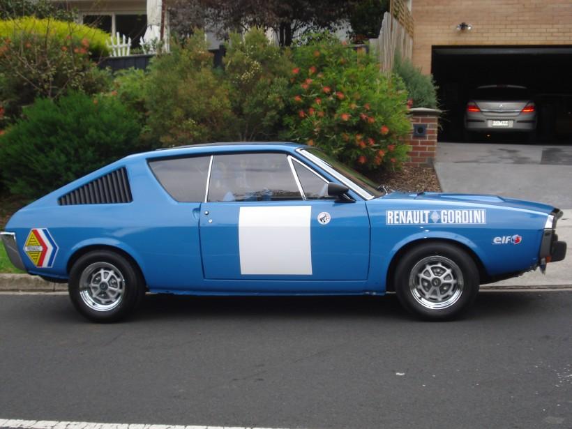 1974 Renault 17 TS/Gordini