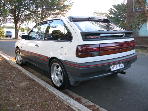 1988 Ford Laser Tx3 4wd Turbo - Sonicbronze