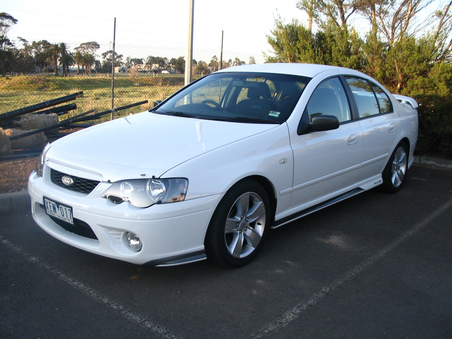 2007 Ford Falcon BF MkII Upgrade XR6 Turbo Police Package