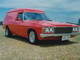 1977 Holden HX SANDMAN Panel Van
