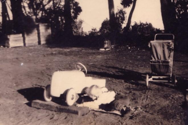 1955 Pedal Car Metal