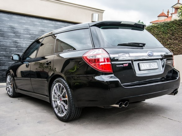 2007 Subaru Liberty Gt Tuned By Sti Scottmelb Shannons