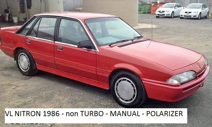 1986 Holden Dealer Team VL NITRON