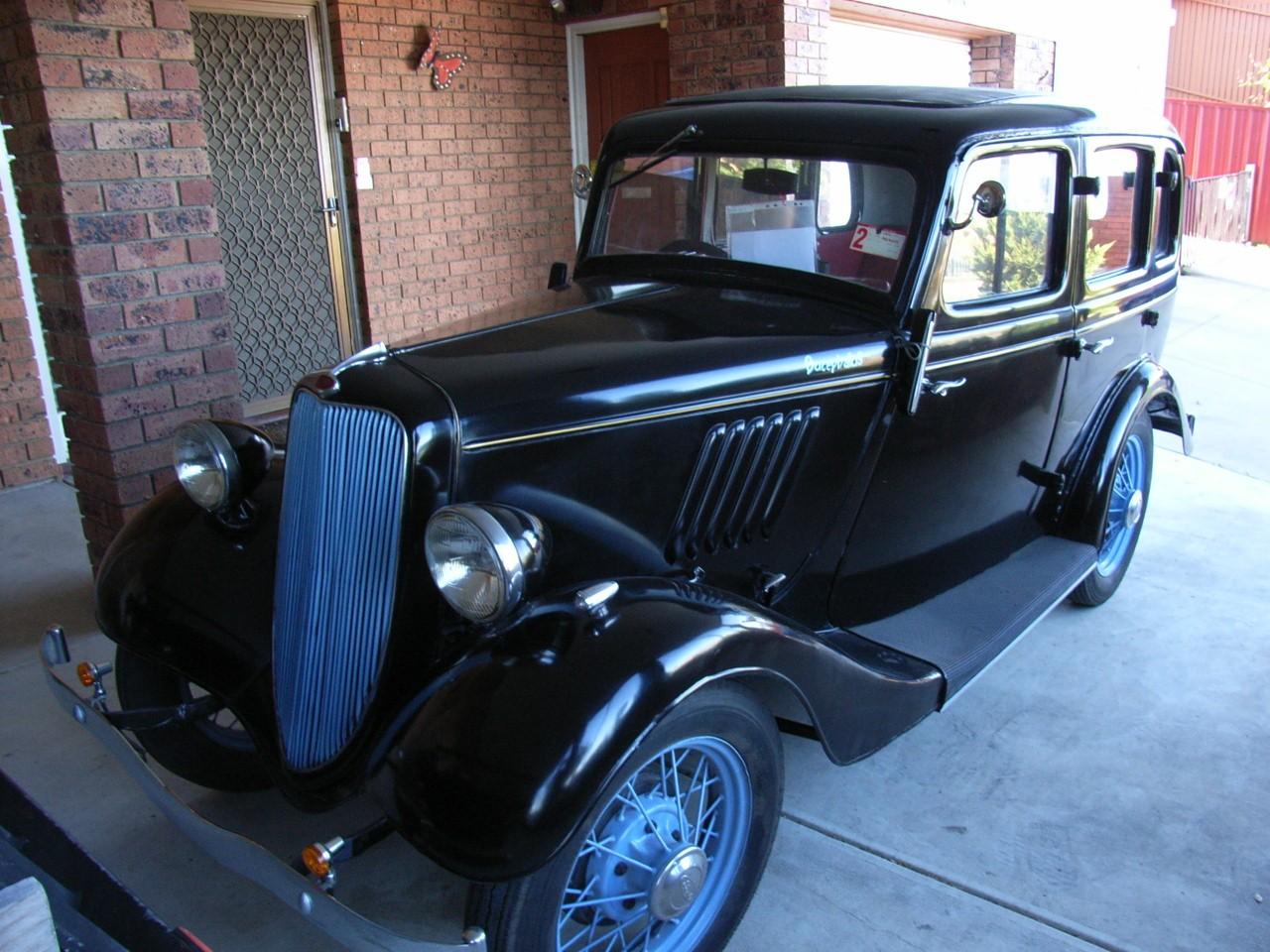 1937 Ford Model Y----Eight