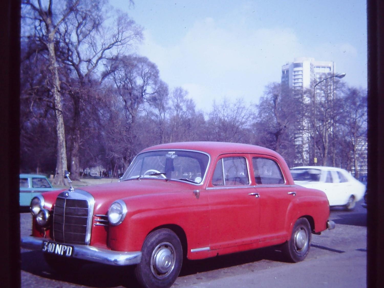 1960 Mercedes-Benz 190b