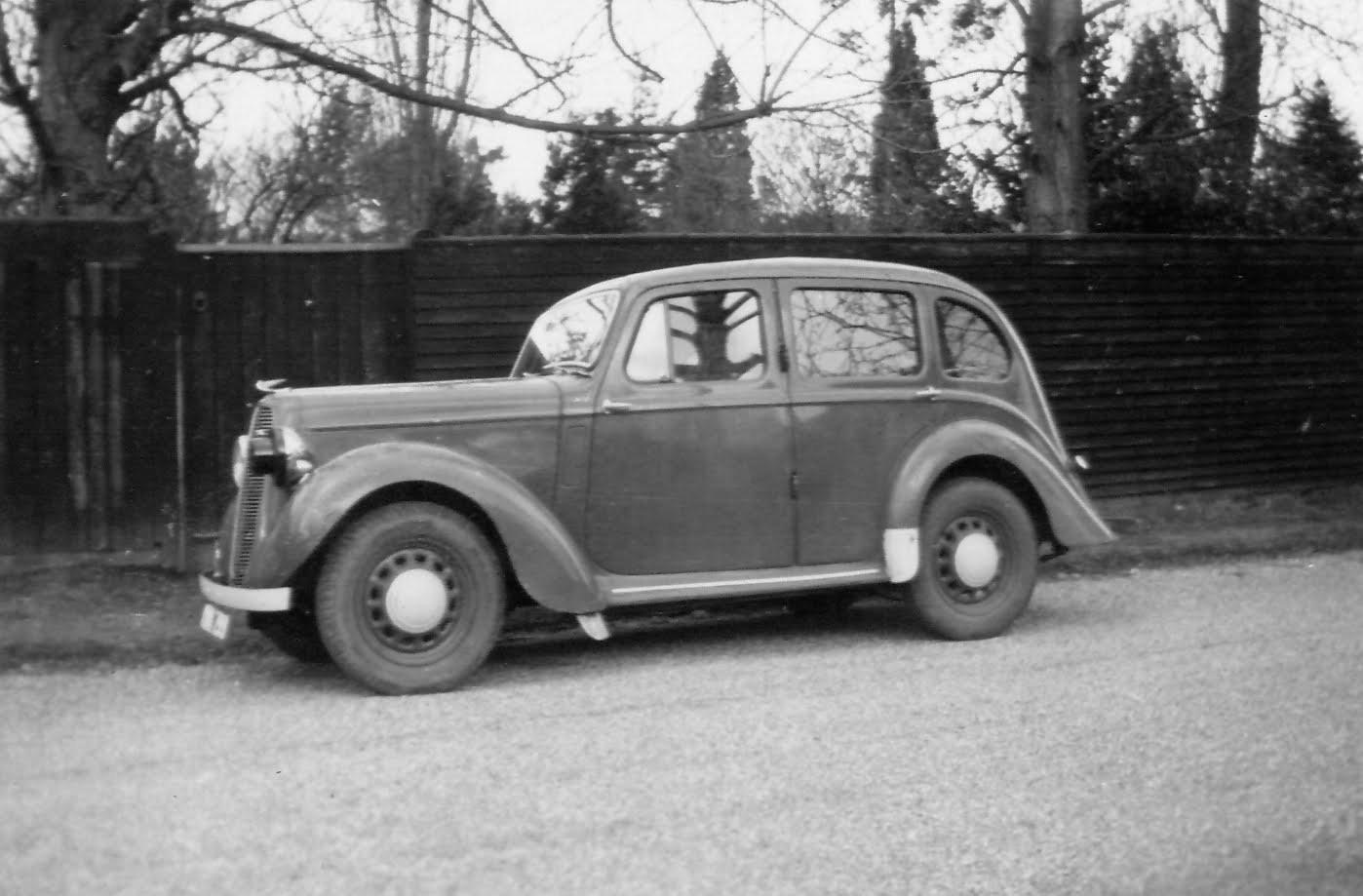 1939 Hillman Minx