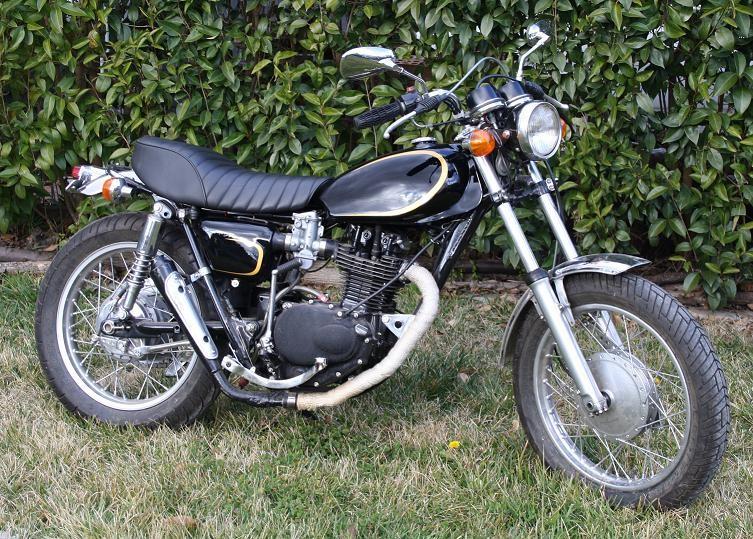 1972 Honda XL250