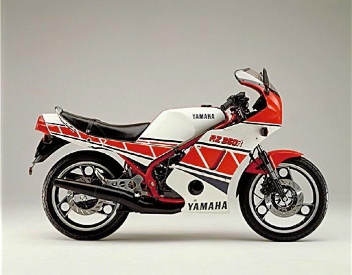 1985 Yamaha RZ350r