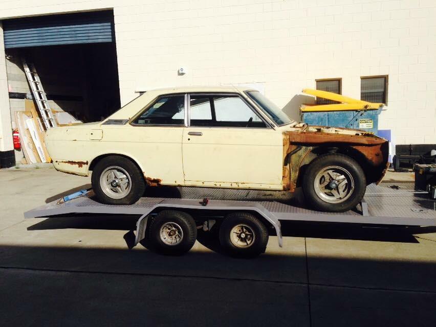 1971 Datsun Bluebird 510 1600 coupe