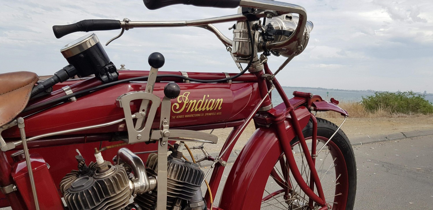 1916 Indian Indian powerplus outfit