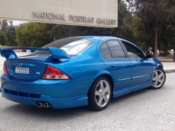 2002 Ford Ts50 on ford falcon stroker