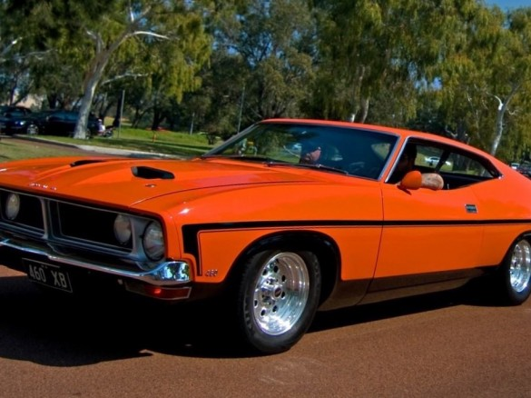 1974 ford falcon 500 micktadic shannons club for Garage ford orange