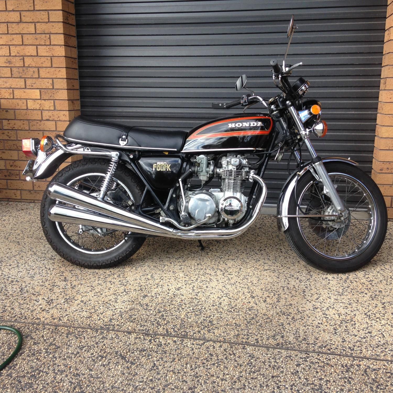 1978 Honda Cb550 K3 Handlebars Shannons Club