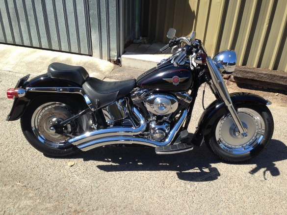2000 Harley Davidson Fat Boy Ledge Shannons Club Fatboy Pictures