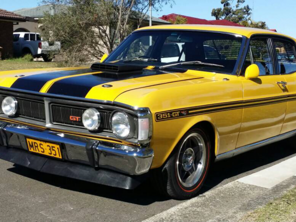 1971 ford falcon mrs351 shannons club for Motor vehicle open on saturday