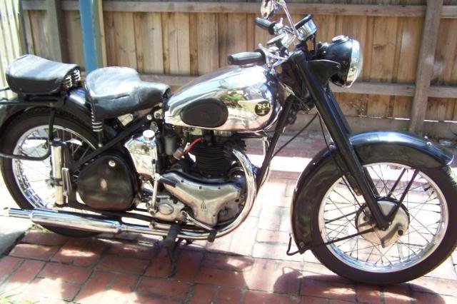 1951 BSA A7 plunger