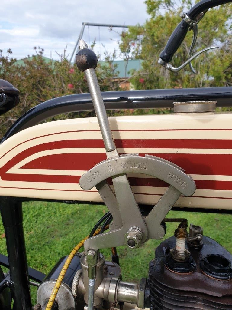 1914 New Hudson 1914 500cc Single - 3 speed