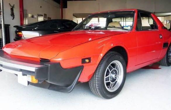 1982 fiat x1 9 misubisu shannons club for Garage fiat coignieres 78