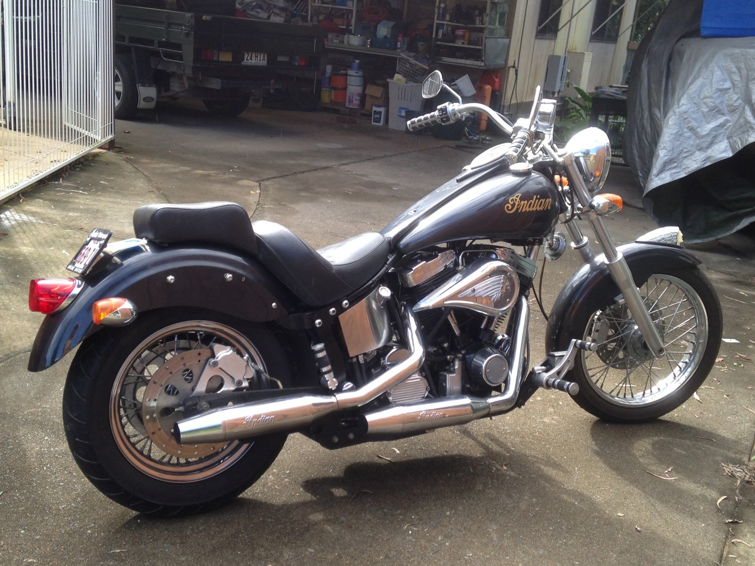 2001 Indian Scout - Scout2001 - Shannons Club-7100