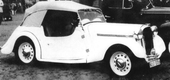 1937 Singer Le Mans