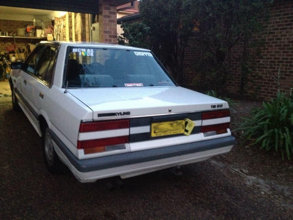 1987 Nissan Skyline R31 Ti