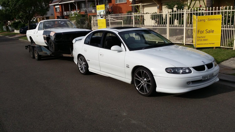 1999 Holden Vt ss