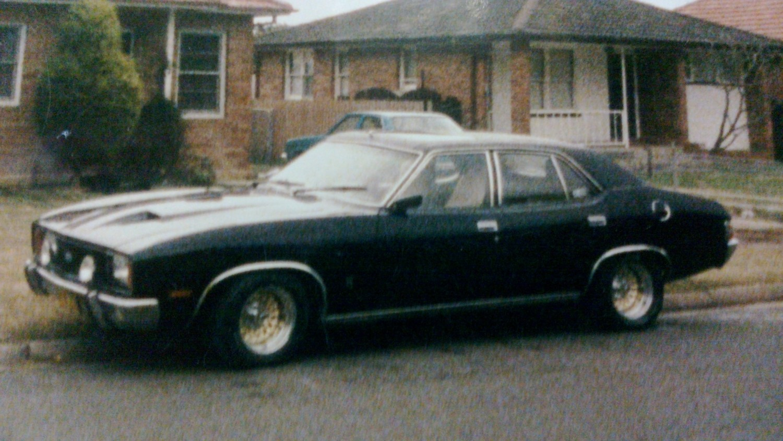 1977 Holden HJ Van