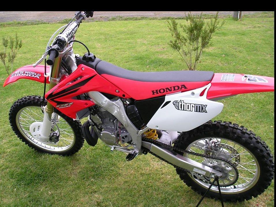 2009 Honda cr250f