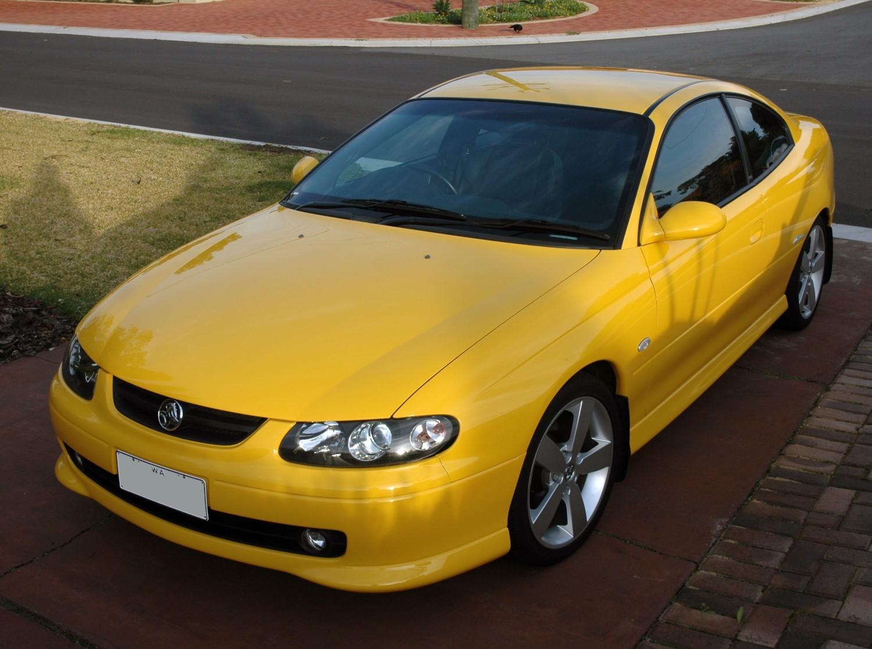 2004 Holden MONARO CV8